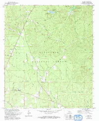 Download a high-resolution, GPS-compatible USGS topo map for Elmer, LA (1993 edition)