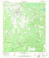 Download a high-resolution, GPS-compatible USGS topo map for Glenmora, LA (1970 edition)