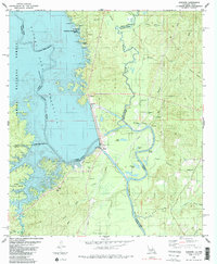 Download a high-resolution, GPS-compatible USGS topo map for Haddens, LA (1985 edition)