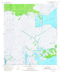 Download a high-resolution, GPS-compatible USGS topo map for Lake Cataouatche West, LA (1968 edition)