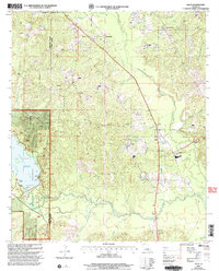 Download a high-resolution, GPS-compatible USGS topo map for Lillie, LA (2005 edition)