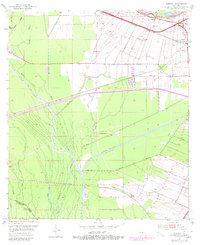 Download a high-resolution, GPS-compatible USGS topo map for Lobdell, LA (1980 edition)
