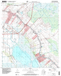 Download a high-resolution, GPS-compatible USGS topo map for Lockport, LA (2000 edition)