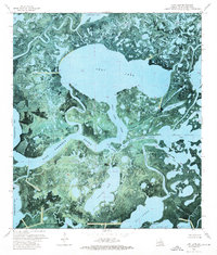 Download a high-resolution, GPS-compatible USGS topo map for Lost Lake, LA (1976 edition)
