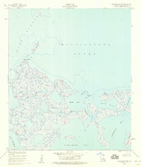 Download a high-resolution, GPS-compatible USGS topo map for Malheureux Point, LA (1959 edition)