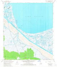 Download a high-resolution, GPS-compatible USGS topo map for Martello Castle, LA (1968 edition)