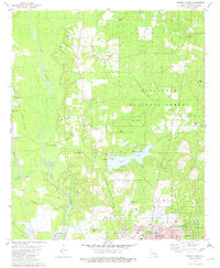 Download a high-resolution, GPS-compatible USGS topo map for Minden North, LA (1982 edition)