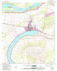 Download a high-resolution, GPS-compatible USGS topo map for New Roads, LA (1994 edition)