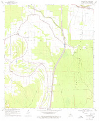 Download a high-resolution, GPS-compatible USGS topo map for Plaucheville, LA (1978 edition)