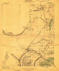 Download a high-resolution, GPS-compatible USGS topo map for Tallulah, LA (1909 edition)