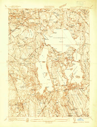 Download a high-resolution, GPS-compatible USGS topo map for Assawompset Pond, MA (1937 edition)