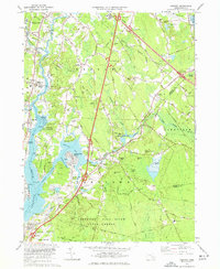 Download a high-resolution, GPS-compatible USGS topo map for Assonet, MA (1977 edition)