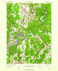 Download a high-resolution, GPS-compatible USGS topo map for Ayer, MA (1958 edition)