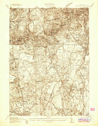Download a high-resolution, GPS-compatible USGS topo map for Blue Hills, MA (1936 edition)