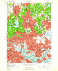 Download a high-resolution, GPS-compatible USGS topo map for Boston North, MA (1962 edition)