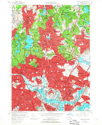 Download a high-resolution, GPS-compatible USGS topo map for Boston North, MA (1968 edition)