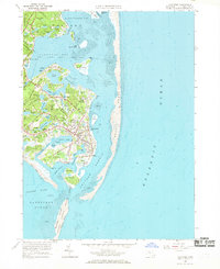 Download a high-resolution, GPS-compatible USGS topo map for Chatham, MA (1969 edition)