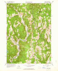Download a high-resolution, GPS-compatible USGS topo map for Colrain, MA (1963 edition)