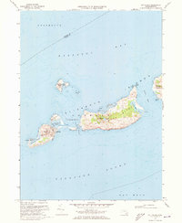 Download a high-resolution, GPS-compatible USGS topo map for Cuttyhunk, MA (1973 edition)