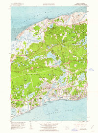 Download a high-resolution, GPS-compatible USGS topo map for Dennis, MA (1963 edition)