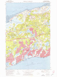 Download a high-resolution, GPS-compatible USGS topo map for Dennis, MA (1976 edition)