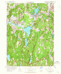 Download a high-resolution, GPS-compatible USGS topo map for East Brookfield, MA (1966 edition)