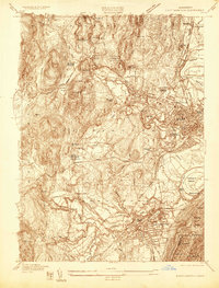 Download a high-resolution, GPS-compatible USGS topo map for Easthampton, MA (1935 edition)