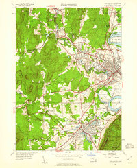 Download a high-resolution, GPS-compatible USGS topo map for Easthampton, MA (1961 edition)