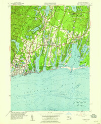 Download a high-resolution, GPS-compatible USGS topo map for Falmouth, MA (1958 edition)