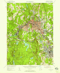 Download a high-resolution, GPS-compatible USGS topo map for Fitchburg, MA (1958 edition)