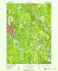 Download a high-resolution, GPS-compatible USGS topo map for Gardner, MA (1958 edition)