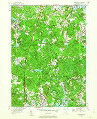 Download a high-resolution, GPS-compatible USGS topo map for Georgetown, MA (1963 edition)