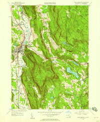 Download a high-resolution, GPS-compatible USGS topo map for Great Barrington, MA (1958 edition)