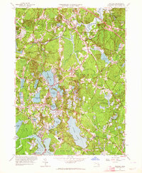 Download a high-resolution, GPS-compatible USGS topo map for Hanover, MA (1964 edition)