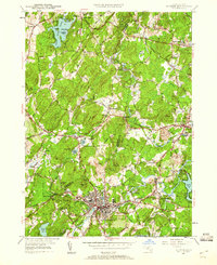 Download a high-resolution, GPS-compatible USGS topo map for Hudson, MA (1960 edition)