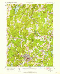 Download a high-resolution, GPS-compatible USGS topo map for Hudson, MA (1958 edition)