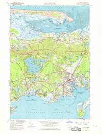 Download a high-resolution, GPS-compatible USGS topo map for Hyannis, MA (1969 edition)