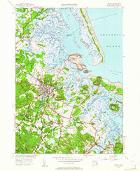 Download a high-resolution, GPS-compatible USGS topo map for Ipswich, MA (1961 edition)