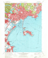 Download a high-resolution, GPS-compatible USGS topo map for Lynn, MA (1972 edition)
