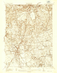 Download a high-resolution, GPS-compatible USGS topo map for Mansfield, MA (1936 edition)