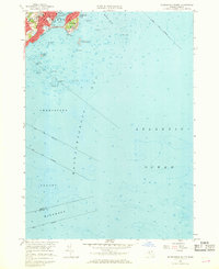 Download a high-resolution, GPS-compatible USGS topo map for Marblehead South, MA (1968 edition)