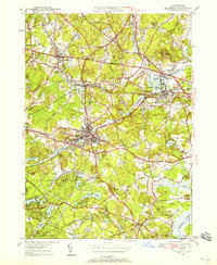 Download a high-resolution, GPS-compatible USGS topo map for Maynard, MA (1958 edition)