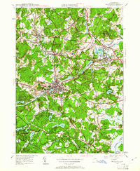 Download a high-resolution, GPS-compatible USGS topo map for Maynard, MA (1961 edition)