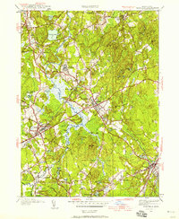 Download a high-resolution, GPS-compatible USGS topo map for Medfield, MA (1958 edition)