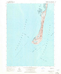 Download a high-resolution, GPS-compatible USGS topo map for Monomoy Point, MA (1972 edition)