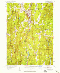Download a high-resolution, GPS-compatible USGS topo map for Monson, MA (1958 edition)