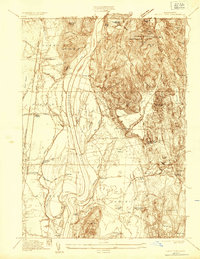 Download a high-resolution, GPS-compatible USGS topo map for Mount Toby, MA (1935 edition)