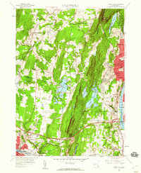 Download a high-resolution, GPS-compatible USGS topo map for Mount Tom, MA (1960 edition)