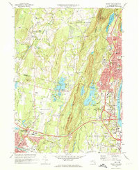 Download a high-resolution, GPS-compatible USGS topo map for Mount Tom, MA (1974 edition)