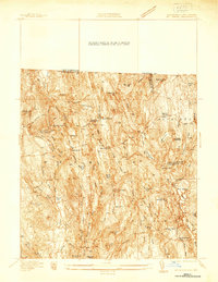Download a high-resolution, GPS-compatible USGS topo map for Mt Grace, MA (1937 edition)